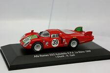 M4 1/43 - Alfa Romeo 33.2 Autodelta Le Mans 1968 No.39