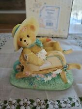 Cherished Teddies Jennifer Gathering the Blooms of Friendship 1994 with box