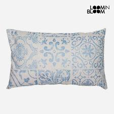 Cojines decorativos de color principal azul de 50 cm x 50 cm para el hogar