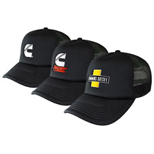 Genuine Cummins Trucker Cap 3pk 3 Pack Hat Truck
