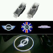 2pz Led auto porta logo ghost proiettore Mini Cooper R55 R56 R57 R58 R59 R60 R50