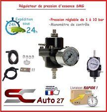 Régulateur de pression d'essence SMG universel réglable neuf RALLY couleur noir