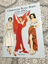 Glamorous Movie Stars of the 1950s Paper Dolls Book~UNCUT~Tom Tierney~1999~WOW!