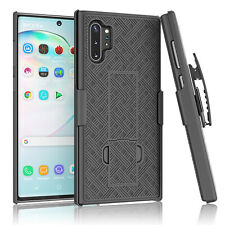 For Samsung Galaxy Note 10 Plus 5G Belt Clip Holster W/Kickstand Hard Case Cover