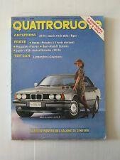 QUATTRORUOTE MARZO 1988 / ANNO XXXIII / NUMERO 389  - LEGGI