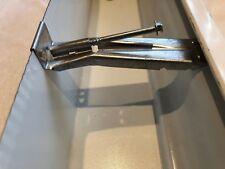 Lot of 20 Hidden Gutter Hanger W/Screw Aluminum For 5 Inch O.G.Gutter