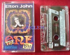 Cassettes audio elton john pop