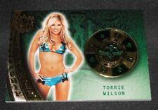 2015 Benchwarmer TORRIE WILSON Sin City #52 CHIP LEADER Green/3 WWE Diva PLAYBOY