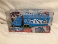 Disney Pixar Cars GRAY DINOCO KING #43 HAULER TRUCK 1:55 Diecast TOKYO DRIFT
