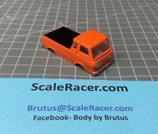 Orange '65 Ford Econoline Pick-up Body for Aurora Dash Tjet type Chassis