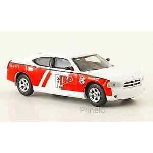 Ricko 38168 1/87 Ho Dodge Charger Rescue Battalion Chief Chef Delle Pompieri USA