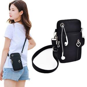 Women Mobile Phone Bag Shoulder Strap Messenger Coin Purse Chest Bag Wallet cute