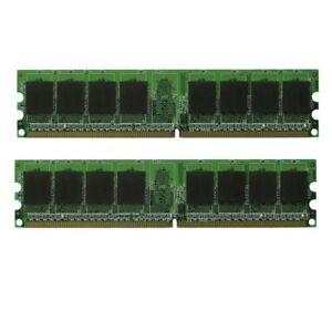 2 x 2GB = 4GB Memory Ram Dell Optiplex 4 740 745 755 760 960 GX520 GX620 Desktop
