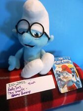 Kelly Toys The Smurfs Brainy Plush (310-2952)