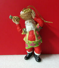 Danbury Mint Turkey Turkish Santa Around the World Porcelain Ornament