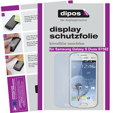 1x Samsung Galaxy S Duos S7562 Pellicola Prottetiva Transparente Proteggi