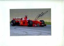 Mika Salo Ferrari F399 Austrian Grand Prix 1999 Signed Photograph 2