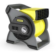 Portable Blower Fan Stanley Drying Industrial High Velocity Blower Fan, Yellow