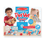 Melissa and Doug Examine & Treat Pet Vet Play Set - 18520 - NEW!