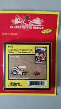 JL Innovative Design - HO Scale Detail Set #452 Lawnmower set (2) Riding & Push