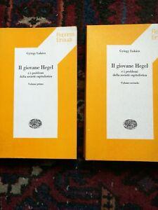 Gyorgy Lukacs Il giovane Hegel