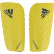 Adidas Predator Lesto Bright Yellow Soccer Shin Guards Size S Lightweight
