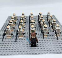 20x Clone Troopers Mini Figures (LEGO STAR WARS Compatible)