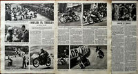 T. T. Race Corner In Thrills Vintage Article by Courtenay Edwards 1949