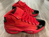 Reebok Question Mid - Size 11 - Heart Over Hype - Nearly New