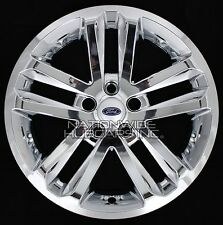 "4 CHROME 2011-2017 Ford EXPLORER 18"" Alloy Wheel Skins Full Rim Covers Hub Caps"