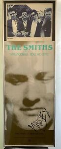 Morrissey Smiths SIGNED Strangeways here we come promo poster and press photo!!!