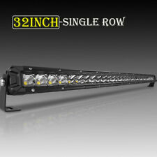 32inch 300W Single Row Super Slim LED Work Light Bar Combo ATV SUV Truck Car 30""