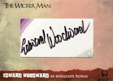 The Wicker Man Ultra Rare Edward Woodward Cut Auto Card WMEW7 Unstoppable Cards
