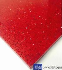 CAMPIONE di quarzo rosso Stardust STARLIGHT Piastrelle A Specchio - 40 x 40