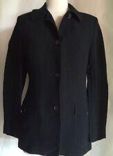 """GIANLUCA ISAIA """"Degas G."""" Black Linen Blend Blazer Jacket~Sz 40R-GORGEOUS!"""