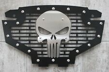 Custom Part Steel PUNISHER Grille Stainless Emblem Grill for Polaris RZR 800/900