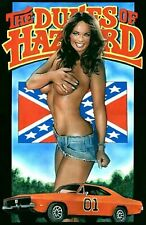 Daisy Duke Rebel 1969 Charger General  Pin up Girl Cave SIGN 4x6 Fridge Magnet
