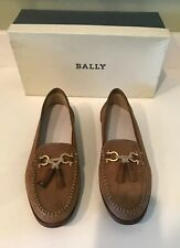 d78ee240df0 vtg brown leather BALLY shoes Kaftan Rare Made In Italy 9 1 2M New W