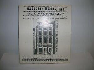 """MAGNUSON MODELS  # 507 HO KIT """" BANK OF VICTORIA FALLS """" LOT # 21498"""