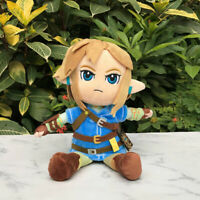 The Legend of Zelda Plush Link 25cm Breath of the Wild Stuffed Toy Cuddly Doll