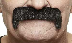 High quality Wide Latin fake, self adhesive mustache