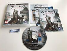 Assassin's Creed III 3 - Sony PlayStation PS3 - PAL FR - Avec Notice