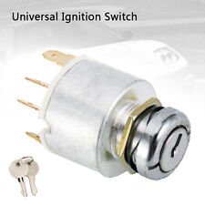 12V Universal Ignition Switch & 2 Keys For Car Lawnmower Boat Classic