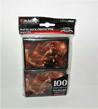ULTRA PRO MAGIC THE GATHERING MATTE DECK PROTECTOR SLEEVES 100ct STANDARD