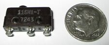 MICRO SWITCH/HONEYWELL SUB-MINIATURE  LIMIT SWITCH SPDT PIN PLUNGER  11SM1-T