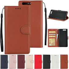 For Huawei P8 P9 P10 P20 Lite P20 Pro 6A PU Leather Wallet Flip Phone Case Cover