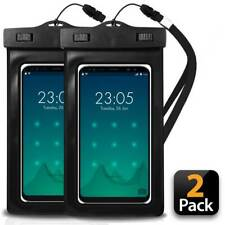 Swimming Waterproof Underwater Dry Bag Pouch Clear Cell Phone Case Cover 2-PACK