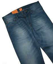 HUGO BOSS 50264747 bleu moyen Orange 24 BARCELONE JEANS W31/L34