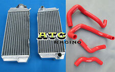 FOR HONDA ATC250R ATC 250R 85 86 1985 1986 Aluminum Radiator and hose RED