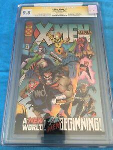 X-Men: Alpha #1 - Marvel - CGC SS 9.8 NM/MT - Signed by Joe Madureira